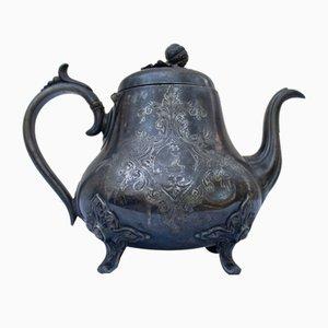 Antike englische Teekanne aus Silber