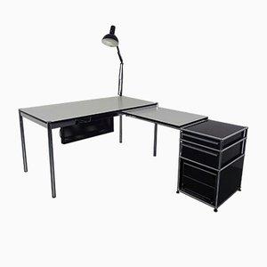 Großer Schreibtisch von Fritz Haller & Paul Schärer für USM Haller, 1980er