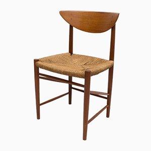 Model 316 Dining Chair by Peter Hvidt & Orla Mølgaard-Nielsen for Søborg Møbelfabrik, 1950s
