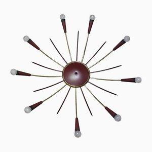 Plafonnier Sputnik, années 50