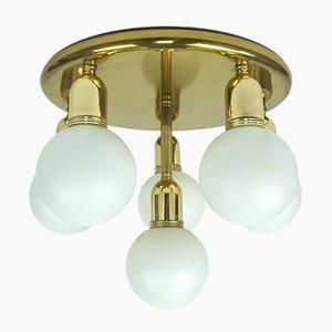 Deutsche Vintage Deckenlampe, 1970er