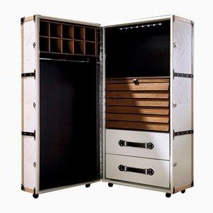 Mueble de cuero y nogal de CA Spanish Handicraft