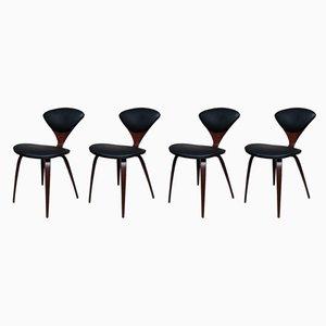 Beistellstühle aus Sperrholz von Norman Cherner für Plycraft, 1960er, 4er Set