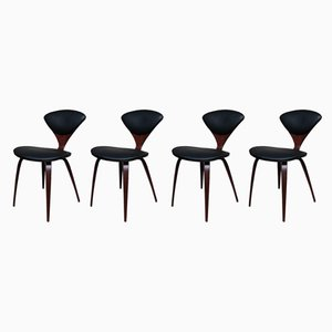 Plywood Side Chairs by Norman Cherner for Plycraft, 1960s, Set of 4