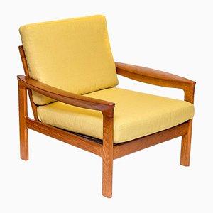 Sessel mit Gestell aus Teak von Arne Wahl Iversen für Komfort, 1960er