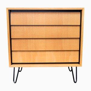 Kommode aus Ulmenholz von Erich Stratmann für Oldenburger Möbelwerkstätten / Idee Möbel, 1950er