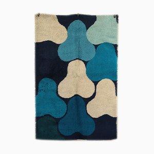 Vintage Teppich aus Wollmischung