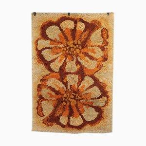 Tappeto vintage in lana mista