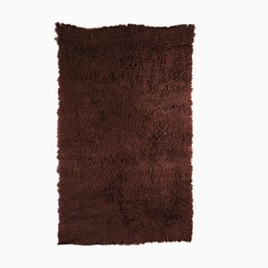 Alfombra vintage mezclada de lana