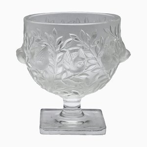 Crystal Vase by Marc Lalique, 1961