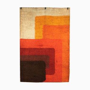 Vintage Teppich aus Wollmischung, 1970er