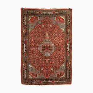Handgefertigter Vintage Teppich, 1950er