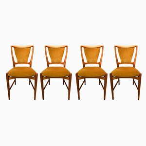 Chaises de Salle à Manger Vintage, Danemark, Set de 4