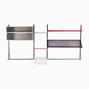 Pilastro Wall Unit by Tjerk Reijenga for Pilastro, 1960s