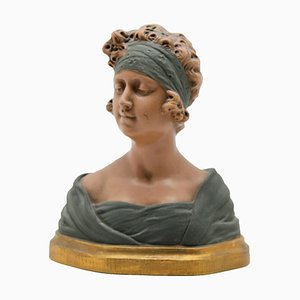 Antique Bust by Auguste Carli