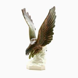 Statuetta Bird of Prey in porcellana di Goebel, anni '60