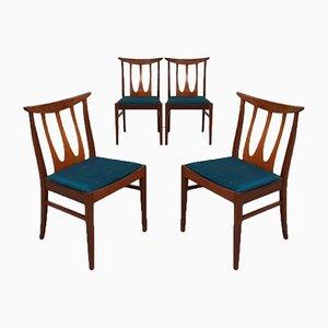 Sedie da pranzo di G-Plan, anni '60, set di 4