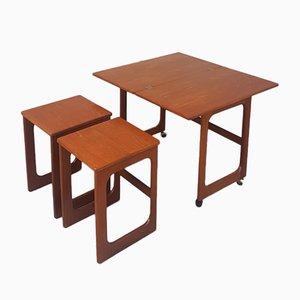 Tavolini ad incastro di McIntosh, anni '60