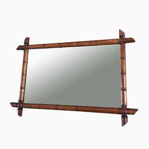 Miroir en Bambou, années 30