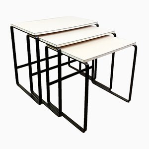 Nesting Tables by August Halder for Halder Werkstätte, 1960s