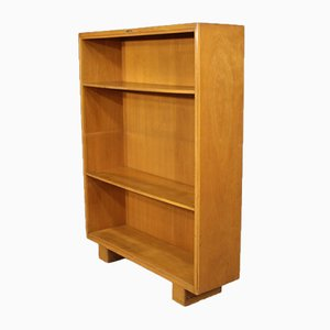 Vintage Italian Beech and Fruitwood Cabinet from Antonio Ferretti, 1930s