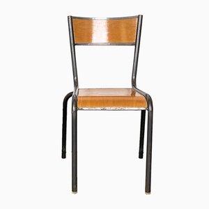 Französische Mullca Esszimmerstühle von Gaston Cavaillon, Robert Muller, 1950er, 4er Set