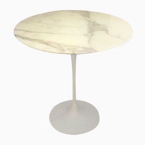 Beistelltisch mit Marmorplatte von Eero Saarinen für Knoll Inc. / Knoll International, 1980er
