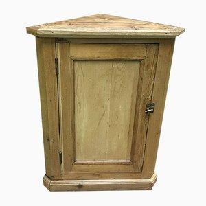 Mueble esquinero vintage de abeto