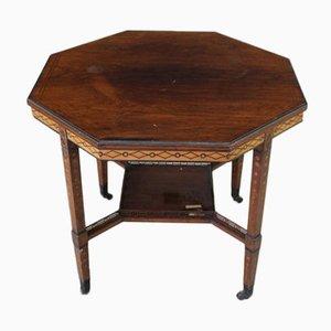 Tavolino ottagonale antico