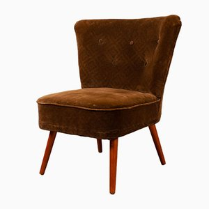 Vintage Cocktail Chair from VEB Polstermöbelverkstätten Aue, 1960s