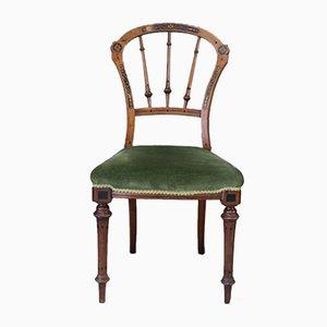 Antike viktorianische Esszimmerstühle, 4er Set