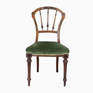 Antique Victorian Dining Chairs, Set of 4