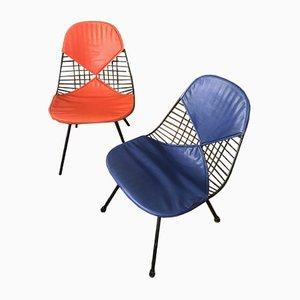 Esszimmerstühle von Charles & Ray Eames für Herman Miller, 1950er, 2er Set