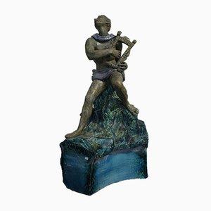 Art Déco Skulptur von San Polo Venezia, 1940er