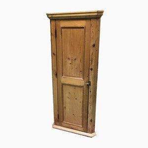 Vintage Fir Corner Cabinet
