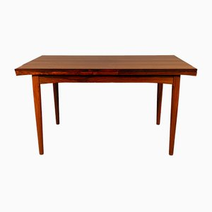 Danish Extending Rosewood Dining Table, 1960s