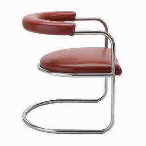 Sillas Club S103 Bauhaus vintage de Fritz Gross para TUBUS. Juego de 3