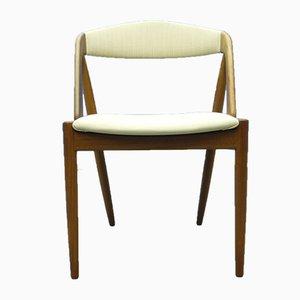 Chaise en Teck par Kai Kristiansen, années 60