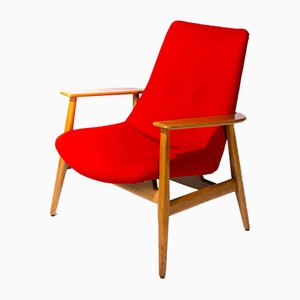 670 Lounge Chair by Pierre Guariche for Steiner, 1946