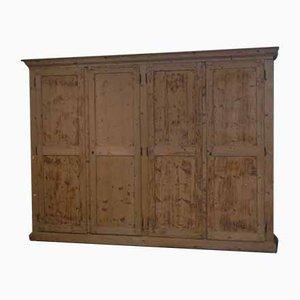 Spruce Wardrobe Cabinet, 1980s