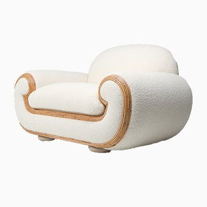 Polar Bear Armchair by Vivai Del Sud, 1970s