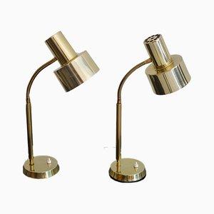Tischlampen aus Messing von Boréns, 1960er, 2er Set