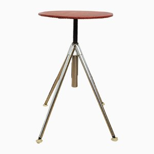 Mid-Century Adjustable Stool from Hailo, 1950s