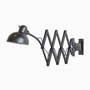 Lampe Ciseaux Modèle 6614 par Christian Dell pour Kaiser Idell / Kaiser Leuchten, années 30