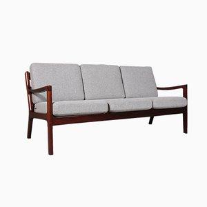 Senator 3-Sitzer Sofa von Ole Wanscher für Poul Jeppesens Møbelfabrik, 1970er