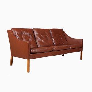 Sofá de tres plazas modelo 2209 de Børge Mogensen para Fredericia, años 60