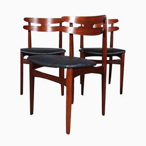 Modell 178 Esszimmerstühle von Johannes Andersen für Bramin, 1960er, 5er Set