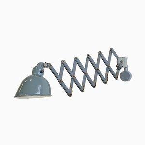 Lámpara de acordeón industrial de Siemens, años 30