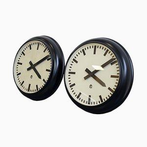 Reloj de oficina alemán moderno, años 30
