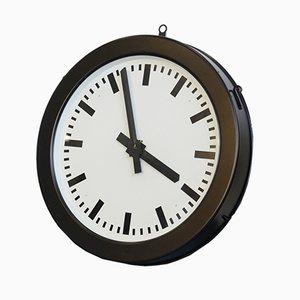 Horloge d'Usine Vintage de Bohmeyer, années 30